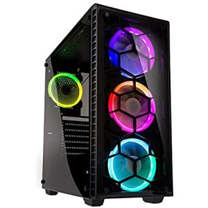 "POWERED BY ""PC FROG"" - CPU AMD R3 3100 8GB 480GB SSD VGA GTX1050 4GB CASE OBSERVATORY 500W"
